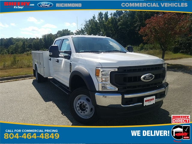 2020 Ford F-450 Crew Cab DRW 4x4, Reading Service Body #NC56052 - photo 1