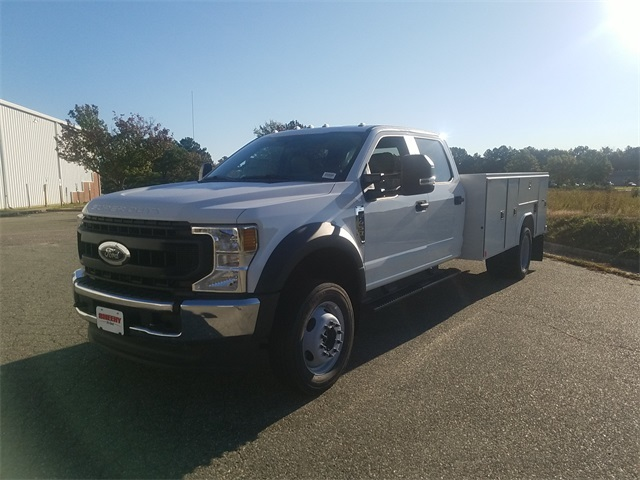 2020 Ford F-450 Crew Cab DRW 4x4, Reading SL Service Body #NC56053 - photo 4
