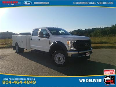 2020 Ford F-450 Crew Cab DRW 4x4, Reading SL Service Body #NC56053 - photo 1