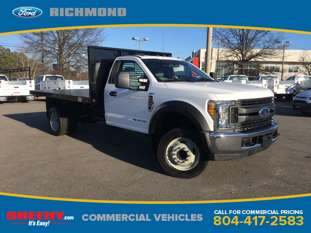 2017 F-550 Regular Cab DRW 4x2,  Freedom Platform Body #NC82176 - photo 3