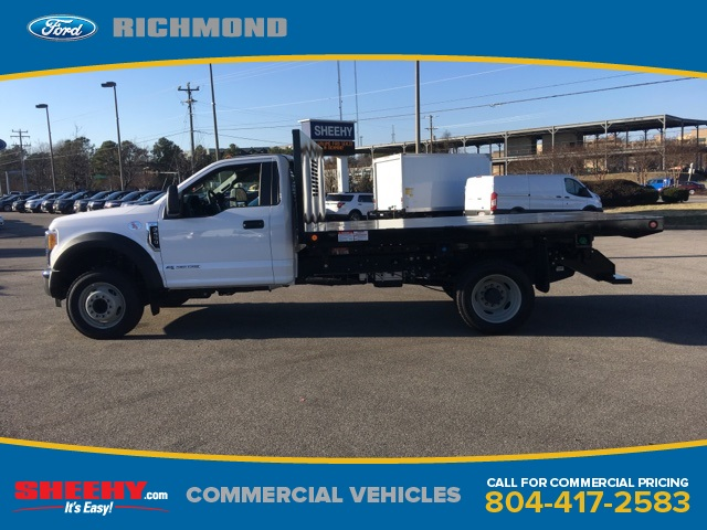 2017 F-550 Regular Cab DRW 4x2,  Freedom Platform Body #NC82176 - photo 5