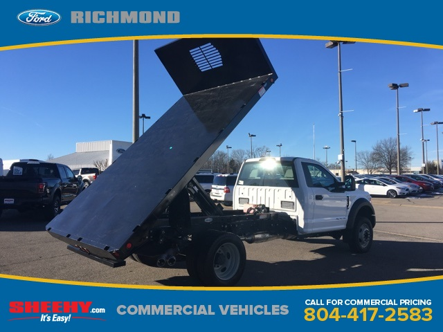 2017 F-550 Regular Cab DRW 4x2,  Freedom Platform Body #NC82176 - photo 8