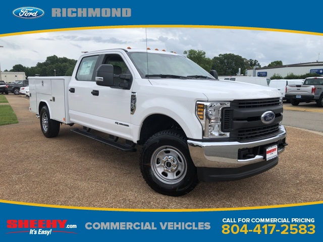 2018 F-350 Crew Cab 4x4,  Reading Classic II Steel Service Body #NC82354 - photo 1