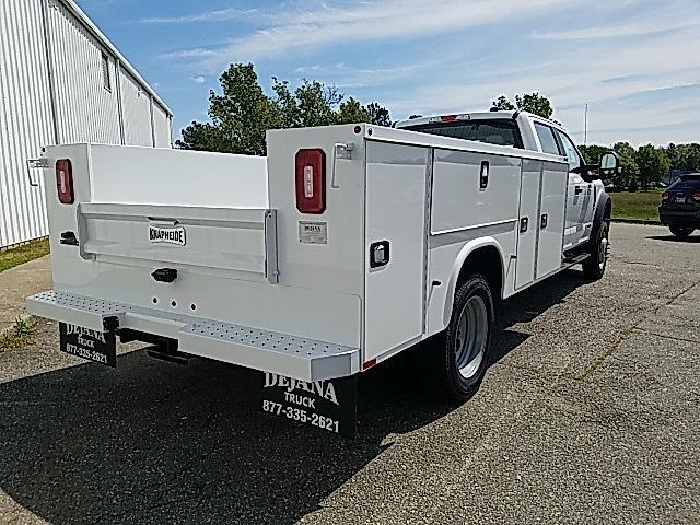 2021 Ford F-550 Crew Cab DRW 4x4, Knapheide Steel Service Body #ND09622 - photo 2
