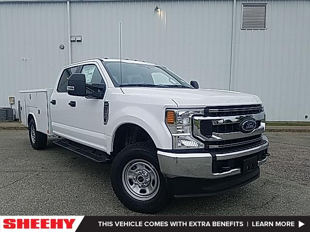 2021 Ford F-350 Crew Cab 4x4, Reading Classic II Steel Service Body #ND09884 - photo 1