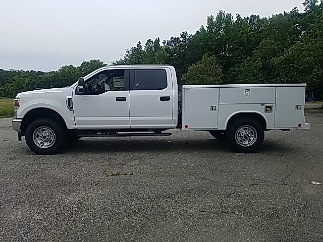 2021 Ford F-350 Crew Cab 4x4, Reading Classic II Steel Service Body #ND09884 - photo 5