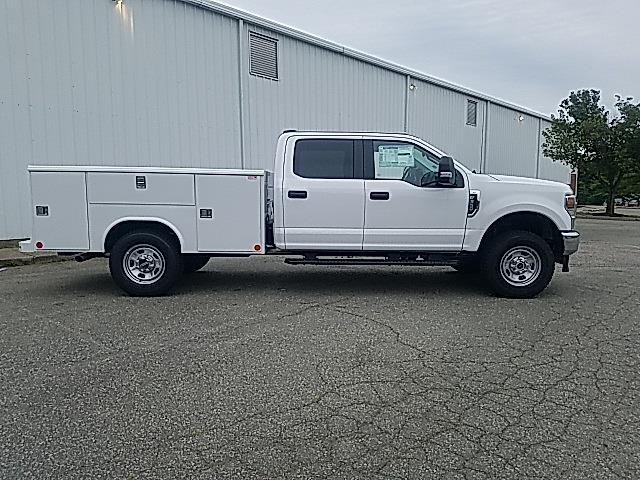 2021 Ford F-350 Crew Cab 4x4, Reading Classic II Steel Service Body #ND09884 - photo 8