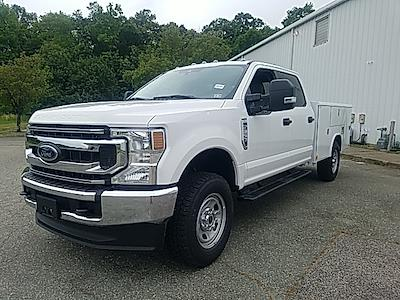 2021 Ford F-350 Crew Cab 4x4, Reading Classic II Steel Service Body #ND09884 - photo 4