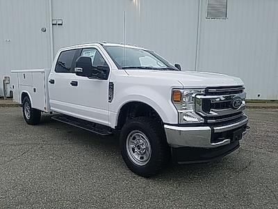 2021 Ford F-350 Crew Cab 4x4, Reading Classic II Steel Service Body #ND09884 - photo 9