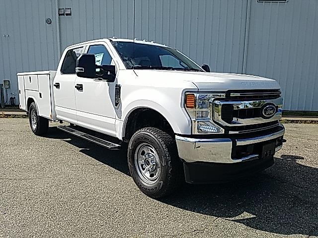 2021 Ford F-350 Crew Cab 4x4, Reading Classic II Steel Service Body #ND09885 - photo 8