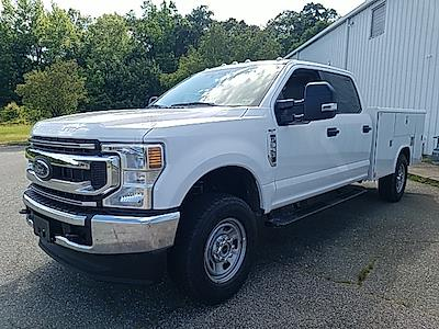 2021 Ford F-350 Crew Cab 4x4, Reading Classic II Steel Service Body #ND09885 - photo 3