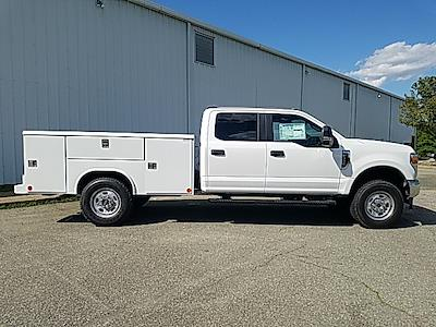 2021 Ford F-350 Crew Cab 4x4, Reading Classic II Steel Service Body #ND09885 - photo 7