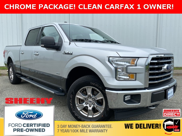 2017 Ford F-150 SuperCrew Cab 4x4, Pickup #ND30531A - photo 1