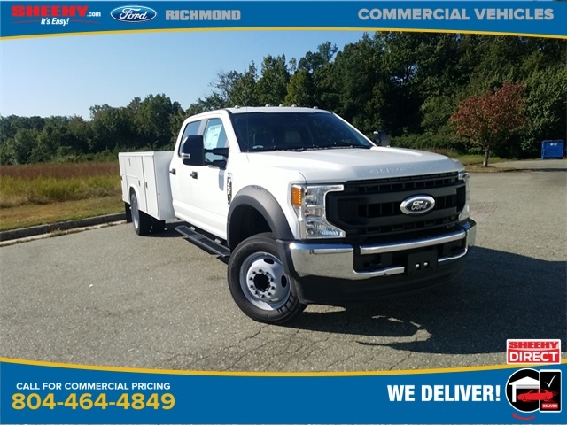 2020 Ford F-550 Crew Cab DRW 4x2, Reading Service Body #ND42515 - photo 1