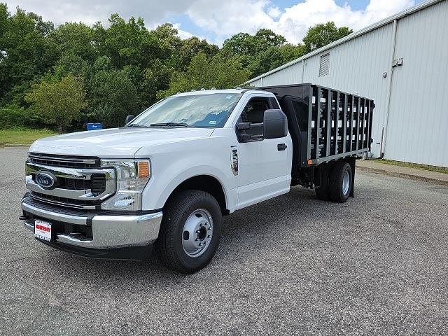 2021 F-350 Regular Cab DRW 4x2,  PJ's Truck Bodies Stake Bed #ND61347 - photo 4