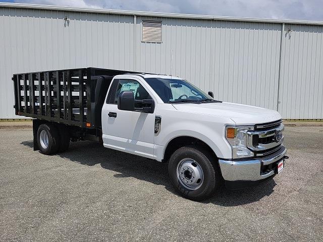 2021 F-350 Regular Cab DRW 4x2,  PJ's Truck Bodies Stake Bed #ND61347 - photo 9