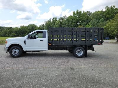 2021 F-350 Regular Cab DRW 4x2,  PJ's Truck Bodies Stake Bed #ND61347 - photo 5