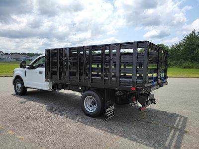 2021 F-350 Regular Cab DRW 4x2,  PJ's Truck Bodies Stake Bed #ND61347 - photo 6