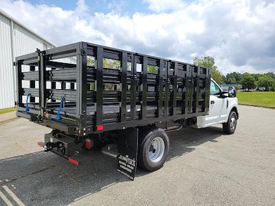 2021 F-350 Regular Cab DRW 4x2,  PJ's Truck Bodies Stake Bed #ND61347 - photo 2