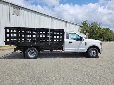 2021 F-350 Regular Cab DRW 4x2,  PJ's Truck Bodies Stake Bed #ND61347 - photo 8