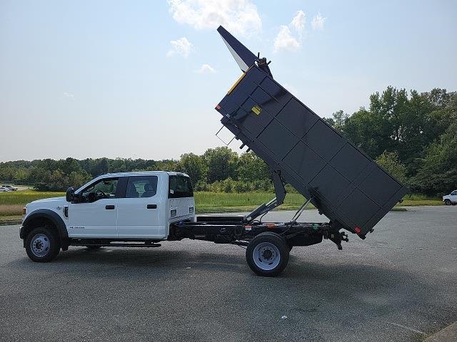 2021 F-450 Crew Cab DRW 4x4,  PJ's Truck Bodies Landscape Dump #ND98891 - photo 12