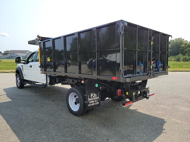 2021 F-450 Crew Cab DRW 4x4,  PJ's Truck Bodies Landscape Dump #ND98891 - photo 6