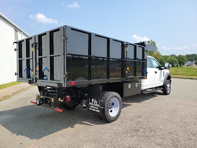 2021 F-450 Crew Cab DRW 4x4,  PJ's Truck Bodies Landscape Dump #ND98891 - photo 2