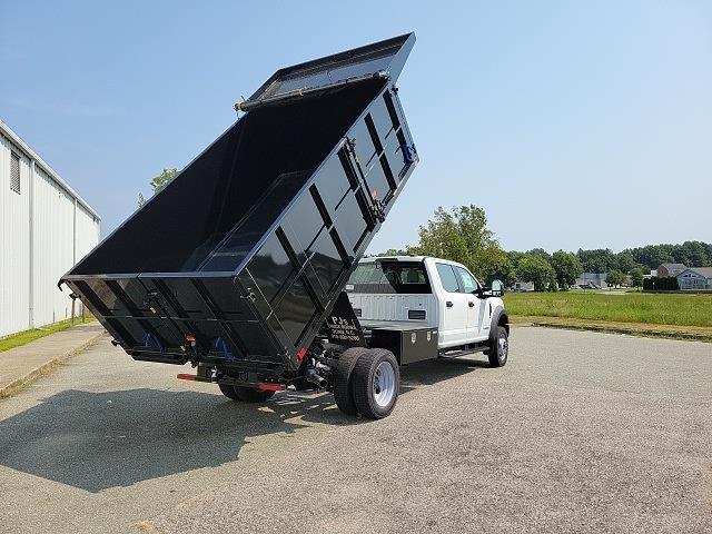 2021 F-450 Crew Cab DRW 4x4,  PJ's Truck Bodies Landscape Dump #ND98894 - photo 13