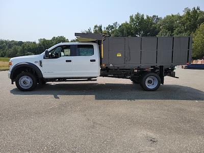 2021 F-450 Crew Cab DRW 4x4,  PJ's Truck Bodies Landscape Dump #ND98894 - photo 5