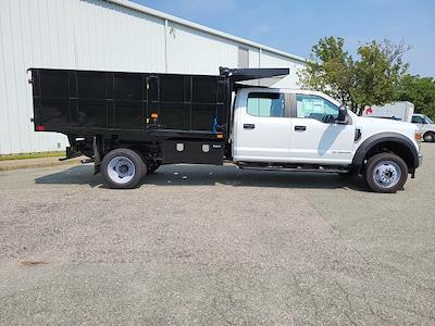 2021 F-450 Crew Cab DRW 4x4,  PJ's Truck Bodies Landscape Dump #ND98894 - photo 8