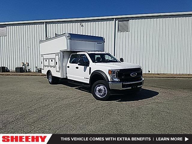 2020 Ford F-550 Crew Cab DRW 4x4, Rockport Service Utility Van #NE12726 - photo 1