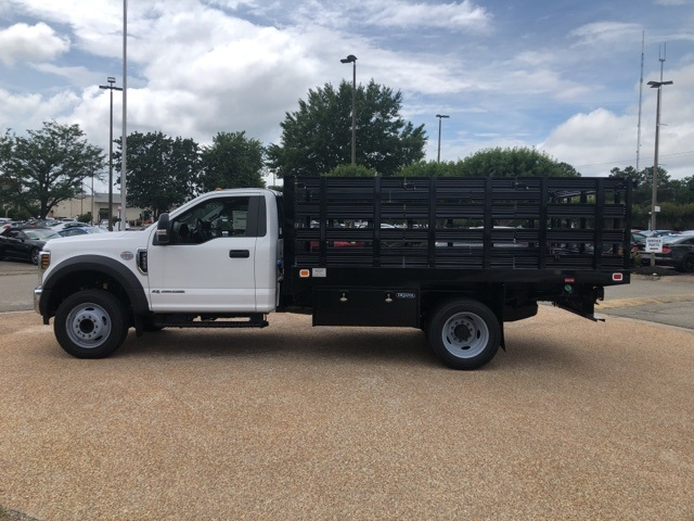 2019 F-550 Regular Cab DRW 4x2,  Knapheide Value-Master X Stake Bed #NE60424 - photo 5