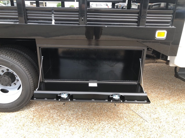 2019 F-550 Regular Cab DRW 4x2,  Knapheide Value-Master X Stake Bed #NE60424 - photo 9