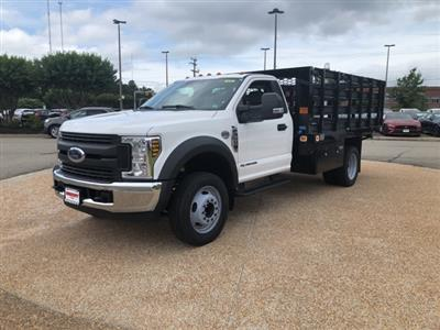 2019 F-550 Regular Cab DRW 4x2,  Knapheide Value-Master X Stake Bed #NE60424 - photo 4