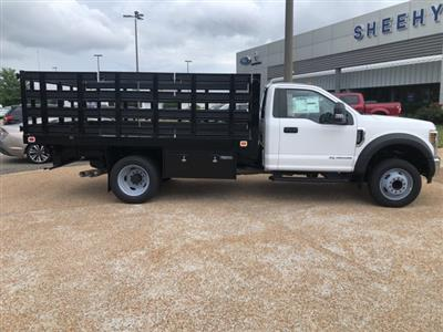 2019 F-550 Regular Cab DRW 4x2,  Knapheide Value-Master X Stake Bed #NE60424 - photo 8