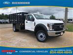 2019 F-550 Regular Cab DRW 4x2,  Knapheide Value-Master X Stake Bed #NE60424 - photo 1