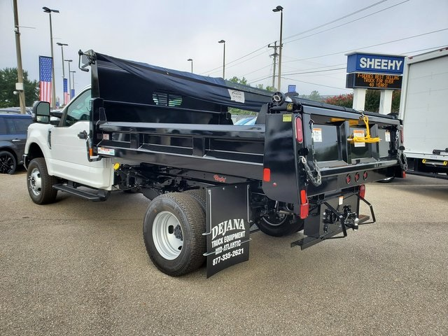 2019 F-350 Regular Cab DRW 4x4, Rugby Eliminator LP Steel Dump Body #NE97365 - photo 2