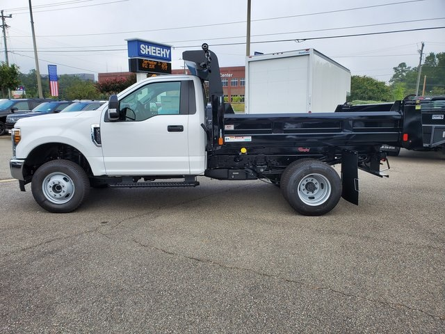 2019 F-350 Regular Cab DRW 4x4, Rugby Eliminator LP Steel Dump Body #NE97365 - photo 6