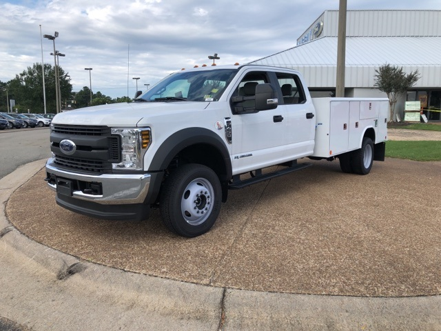 2018 F-450 Crew Cab DRW 4x4,  Reading Service Body #NEC13783 - photo 4