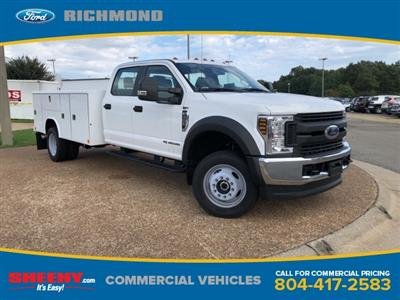 2018 F-450 Crew Cab DRW 4x4,  Service Body #NEC13783 - photo 1