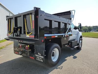 2022 F-750 Regular Cab DRW 4x2,  Godwin 300T Dump Body #NF01796 - photo 2