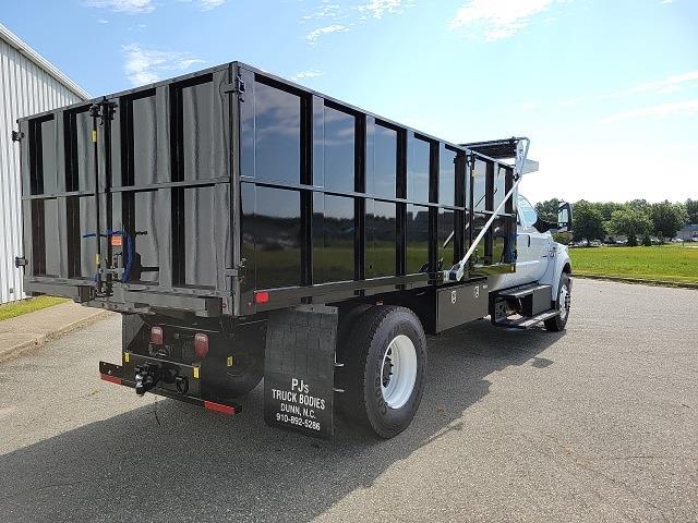 2022 F-750 Crew Cab DRW 4x2,  PJ's Truck Bodies Landscape Dump #NF02613 - photo 2