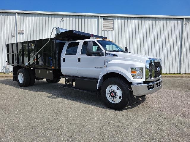 2022 F-750 Crew Cab DRW 4x2,  PJ's Truck Bodies Landscape Dump #NF02613 - photo 9