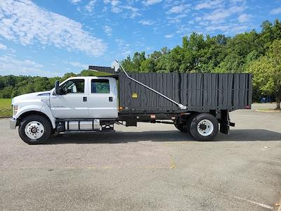 2022 F-750 Crew Cab DRW 4x2,  PJ's Truck Bodies Landscape Dump #NF02613 - photo 5