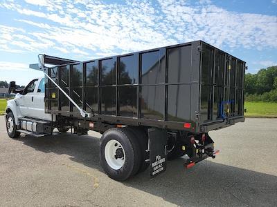 2022 F-750 Crew Cab DRW 4x2,  PJ's Truck Bodies Landscape Dump #NF02613 - photo 6