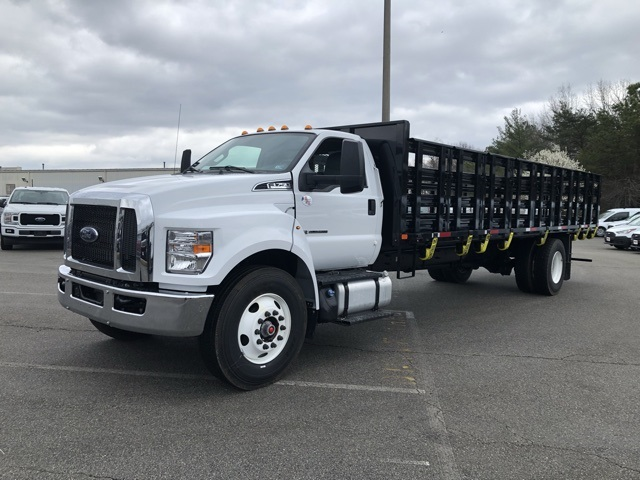 2019 F-750 Regular Cab DRW 4x2, PJ's Stake Bed #NF06221 - photo 4