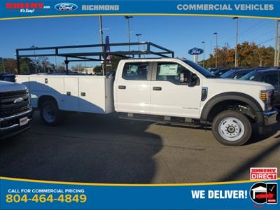2019 Ford F-550 Crew Cab DRW 4x4, Knapheide Steel Service Body #NF24760 - photo 3