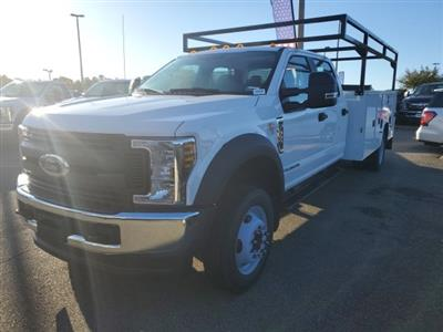 2019 Ford F-550 Crew Cab DRW 4x4, Knapheide Steel Service Body #NF24760 - photo 1