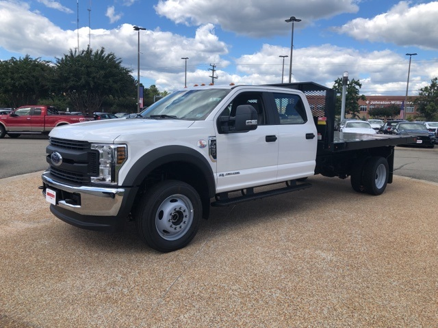 2019 F-550 Crew Cab DRW 4x4,  Monroe Work-A-Hauler II Platform Body #NF25315 - photo 4