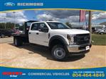 2019 F-550 Crew Cab DRW 4x4,  Monroe Work-A-Hauler II Platform Body #NF25315 - photo 1